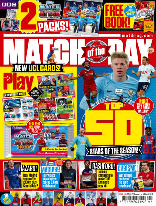 Match of the Day Issue 494