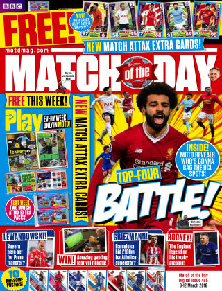 Match of the Day Issue 495