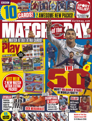 Match of the Day Issue 496