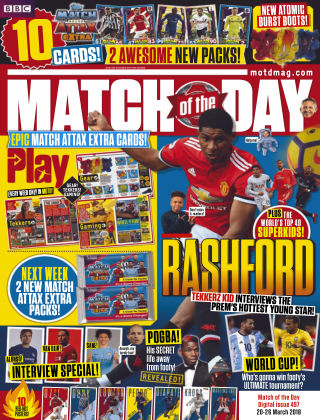 Match of the Day Issue 497