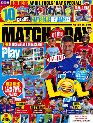 Match of the Day Issue 498