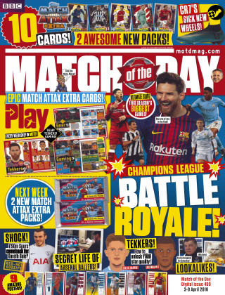 Match of the Day Issue 499