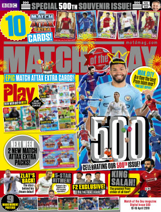 Match of the Day Issue 500