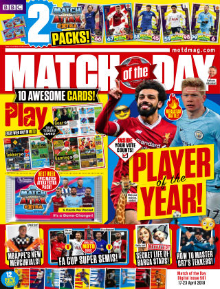 Match of the Day Issue 501