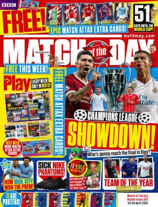 Match of the Day Issue 502