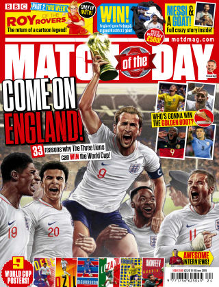 Match of the Day Issue 509