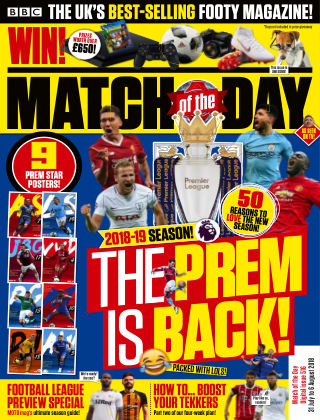 Match of the Day Issue 516