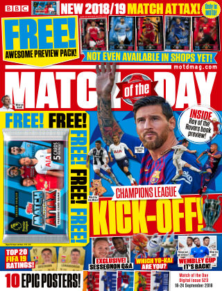 Match of the Day Issue 523