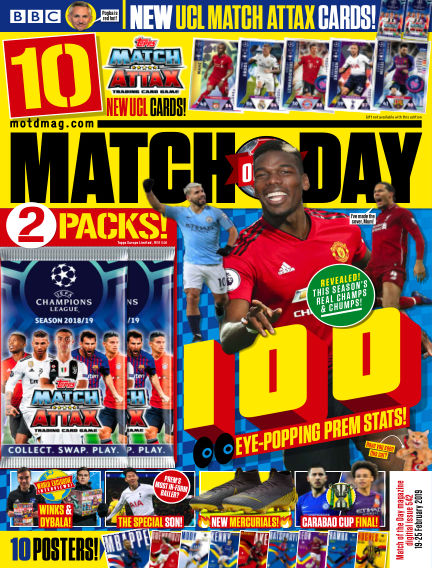 Match of the Day February 19, 2019 00:00