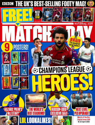Match of the Day Issue550