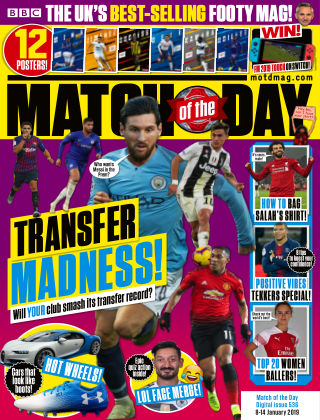 Match of the Day Issue536