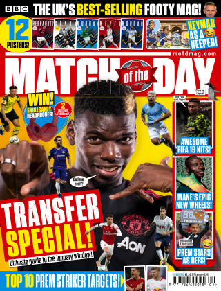 Match of the Day Issue535
