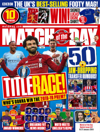 Match of the Day Issue537
