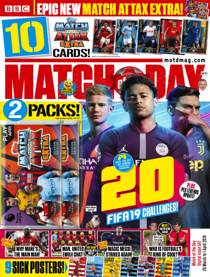 Match of the Day March 26, 2019 00:00