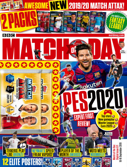 Match of the Day September 10, 2019 00:00