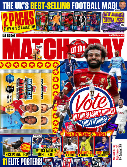 Match of the Day October 08, 2019 00:00