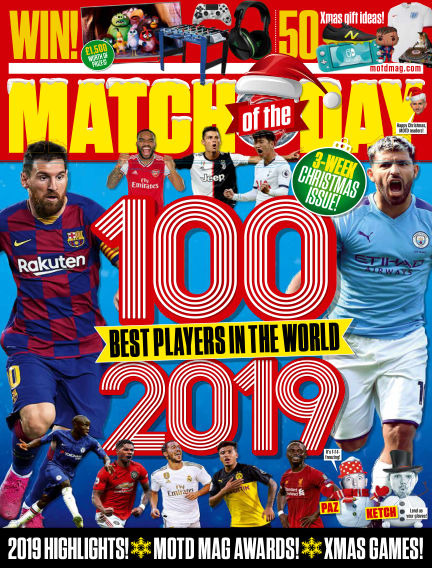 Match of the Day December 03, 2019 00:00