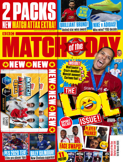 Match of the Day March 10, 2020 00:00