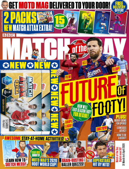 Match of the Day March 31, 2020 00:00