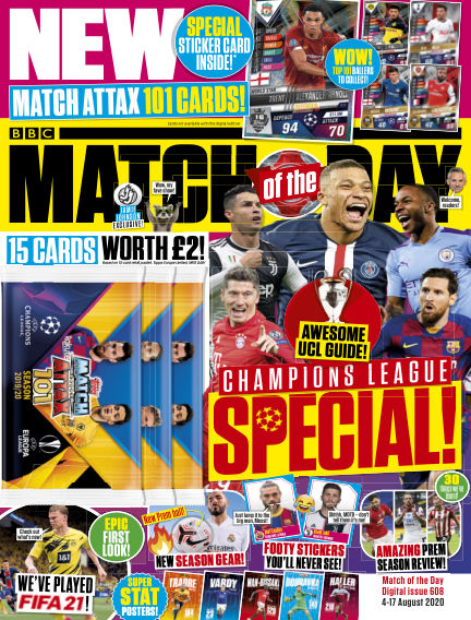 Match of the Day August 05, 2020 00:00