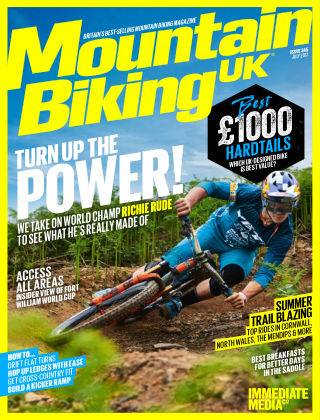 Mountain Biking UK July 2017