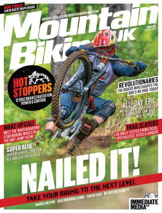 Mountain Biking UK August2021
