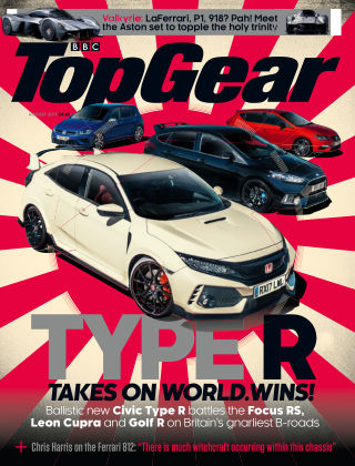 Top Gear August 2017