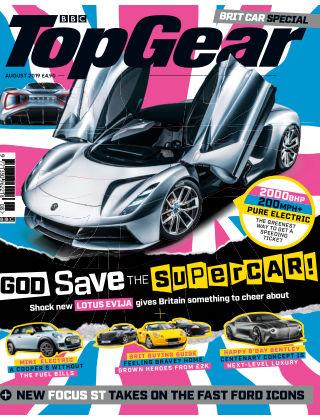 Top Gear August2019