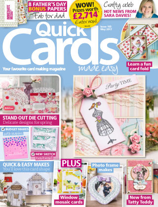 Quick Cards Made Easy May 2017
