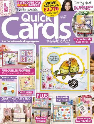 Quick Cards Made Easy July 2017