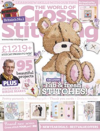 The World of Cross Stitching January 2015