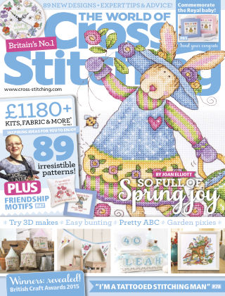 The World of Cross Stitching May 2015