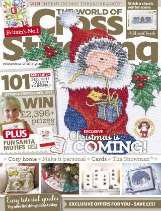 The World of Cross Stitching Christmas 2015