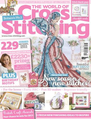 The World of Cross Stitching January 2017