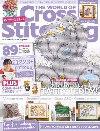 The World of Cross Stitching July 2017