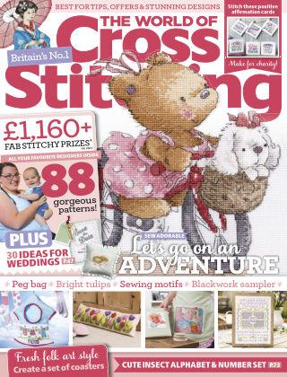 The World of Cross Stitching May2019