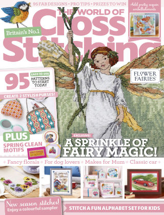 The World of Cross Stitching March2020