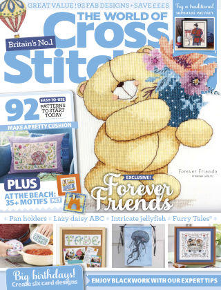 The World of Cross Stitching August2020