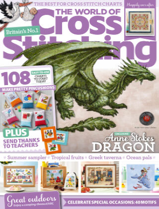 The World of Cross Stitching July2021
