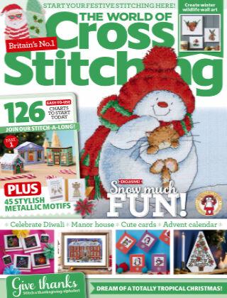 The World of Cross Stitching November2021