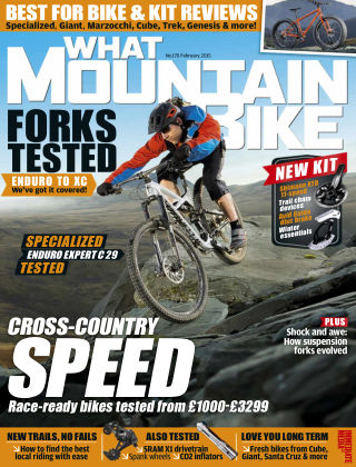 What Mountain Bike Feb 2015
