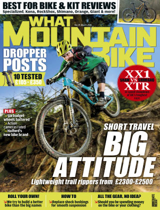 What Mountain Bike Mar 2015