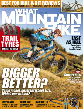 What Mountain Bike Apr 2015