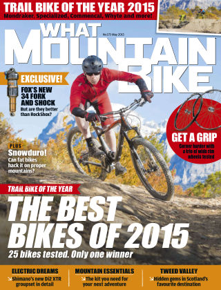 What Mountain Bike May 2015