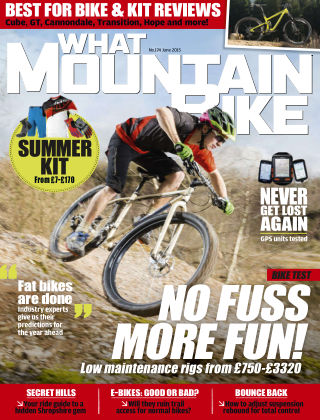 What Mountain Bike Jun 2015