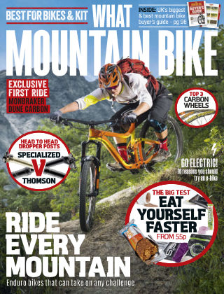 What Mountain Bike Sep 2015
