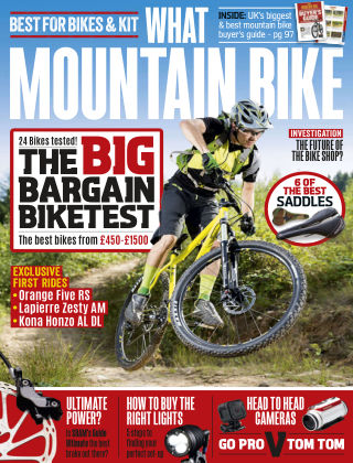 What Mountain Bike Oct 2015