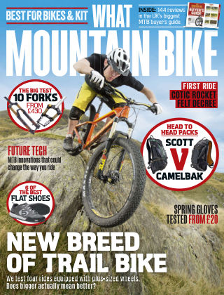 What Mountain Bike Mar 2016