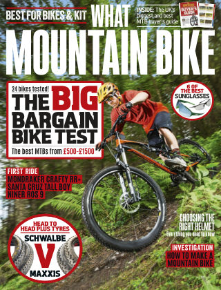 What Mountain Bike Aug 2016
