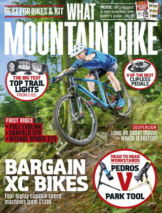 What Mountain Bike Oct 2016